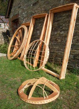 yurt roof wheel - tono