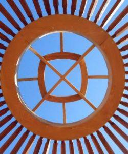 Yurt roofwheel