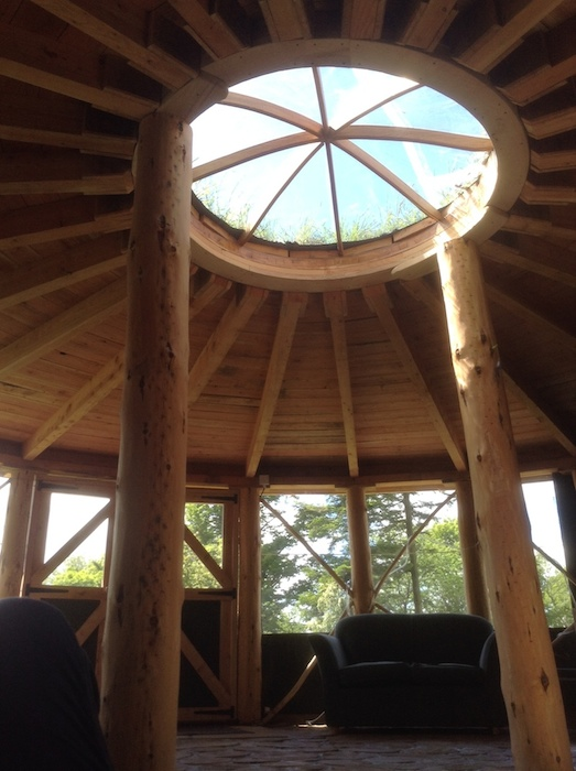 Fron Farm Bespoke Roundhouses Custom Built Wooden Yurts
