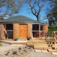 Fron Farm Bespoke Roundhouses Custom Built Wooden Yurts