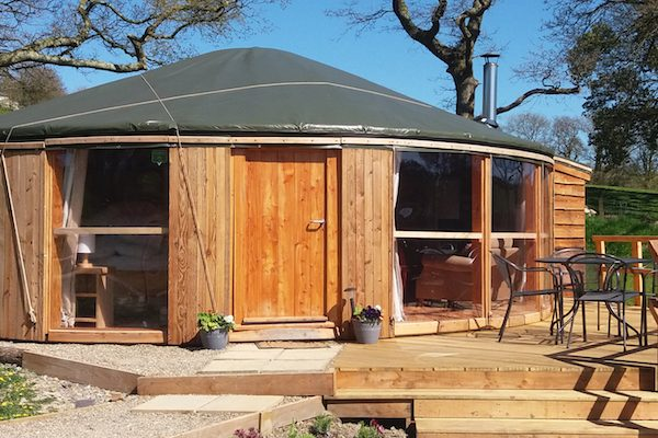 Whether you are looking for a rustic grass roofed structure,or a sleek and stylish roundhouse such as Fron Farm Yurt's new Yurt-Roundhouse, we can custom design and buildany sized roundhouse, suitable for year round use, made from locally sourced sustainable wood to suit your need, size and budget.