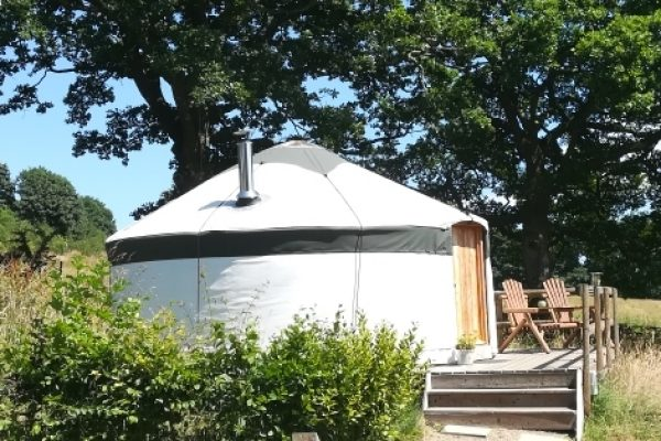 Fron Farm Yurts make traditional handcrafted Yurts for sale. The bentwood Yurt, with steam bent roof poles, and the Ger, the traditional Mongolian roundhouse with straight roof poles. All our frames are made using locally sourced wood; ash, larch and oak. We tailor each yurt to suit your need, size and budget and colour.