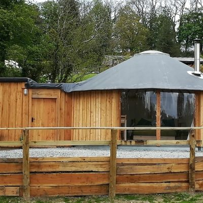 Fron Farm Bespoke Roundhouses- Custom Built Wooden Yurts