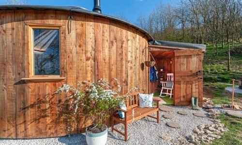 All our Roundhouses are handcrafted in our workshop on our farm in West Wales